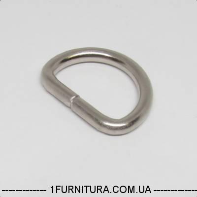 ac99256cc3c3 Полукольца для сумок (20мм) никель, 20шт 4232